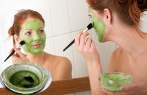 yeşilçay maskesi