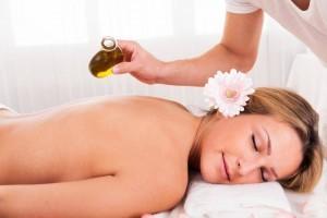üzüm yağı masajı