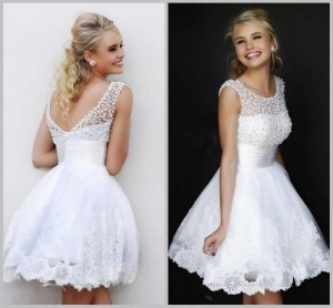 white-graduation-dresses-for-grade-8