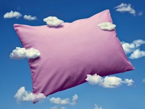 Mandatory Credit: Photo by WestEnd61/REX (4951379a) Pillow and clouds, dreaming and sleep VARIOUS