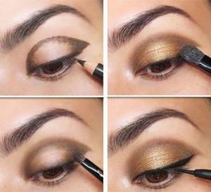 gold-smokey-eye-brown-eyes-how-to-hacks