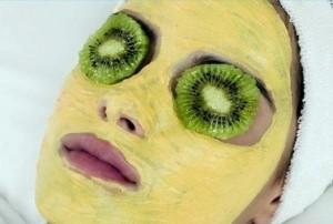 Kiwi-Fruit-Avocado-And-Honey-Face-Mask