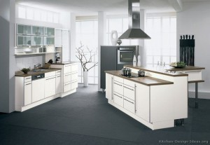 kitchen-cabinets-modern-white-013-a060a-gray-floor-wood-countertop-island-hood