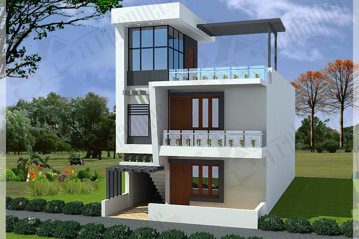Best small row house plan joy studio design gallery for Best row house designs