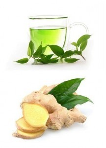 green-tea-with-ginger