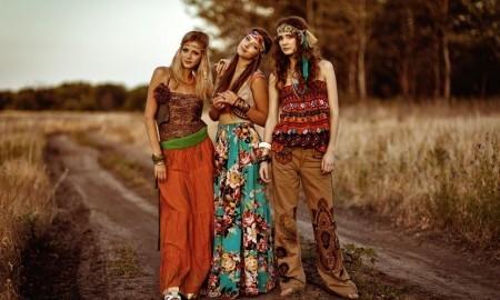 1960'ların Kadın Hippi Modası