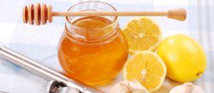 Limon suyu ve bal karışımı