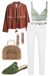 Beyaz Jean İlkbahar-Yaz Trendleri ve Kombinasyonları