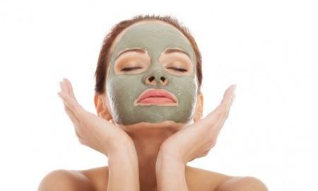 Sivilceli Ciltler İçin Yeşil Kil Maskesi 2