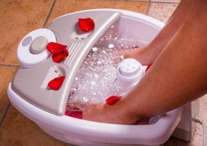 Deniz tuzu ile banyo yapın