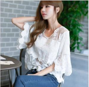 Dantelli Beyaz Gömlek Kombinasyonları 15